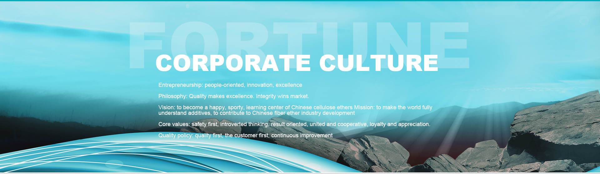Fortune Biotech Corporate Culture